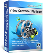 4Videosoft YouTube Video Converter